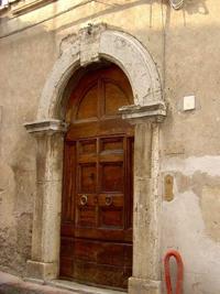 Palazzo Palica - Castellani - Via di Francesco nel Lazio